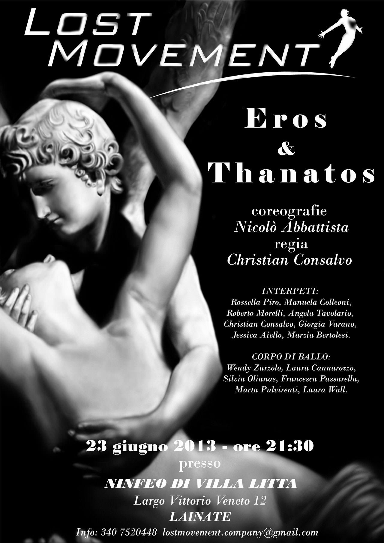 Locandina Eros & Thanatos
