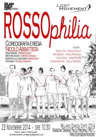 Locandina ROSSOphilia