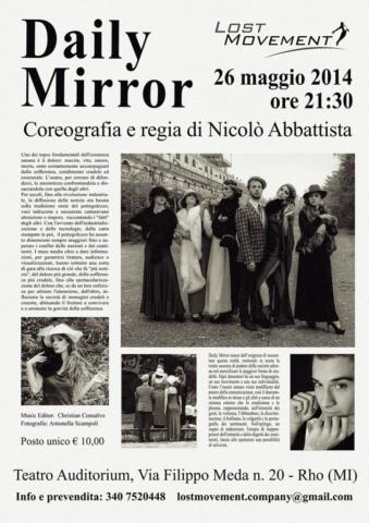 Locandina Daily Mirror