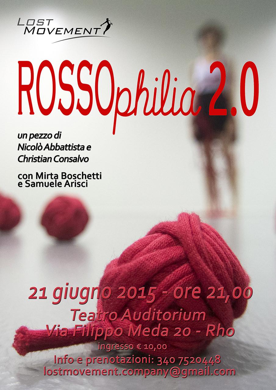 Locandina ROSSOphiia 2.0