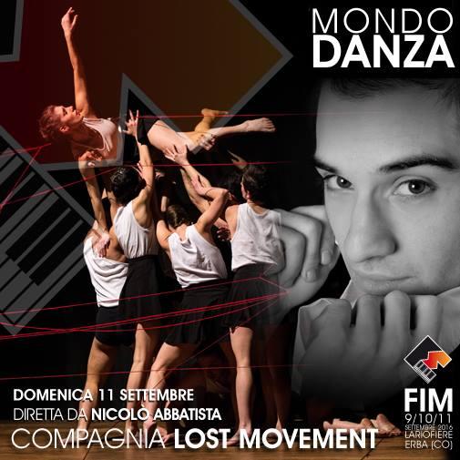 Per info: http://www.fimfiera.it/eventi-in-programma-fim2016/programma-mondo-danza.html